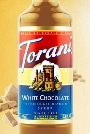 Torani White Chocolate Syrup 375 ml
