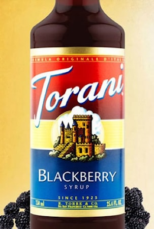 Torani Blackberry Syrup 750 ml -