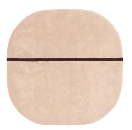 Normann Copenhagen Oona Matta Rosa 140×140 cm