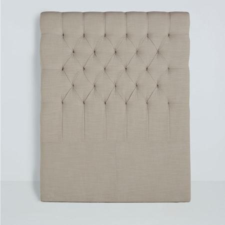Mille Notti Paula sänggavel linen - Natur, 90 cm