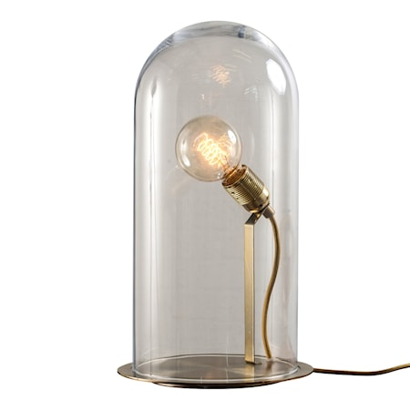 Bilde av Ebb & Flow Speak up dome transparent medium bordlampe