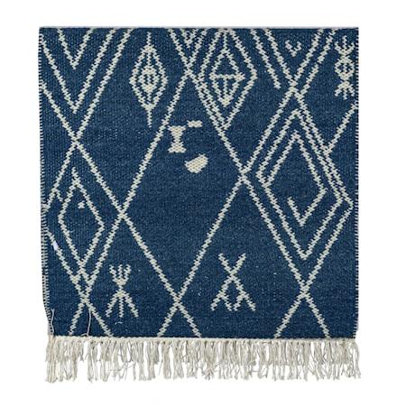 Ullmatta Cactus Blå 65x130 cm