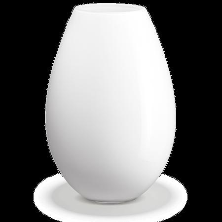 Holmegaard Cocoon Maljakko, korkeus 45 cm, Valkoinen