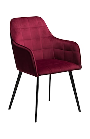 Dan Form Denmark Stol Embrace Velour - Deep Ruby