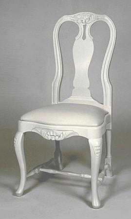 Kallholmen Fredrika stol - pärlgrå
