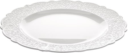 Alessi Dressed Tarjoiluvati 33,5 cm, Valkoinen