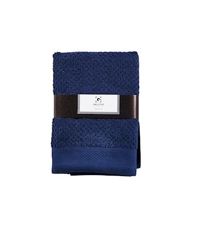 Galzone Håndklæde - 100% bomuld - 400 g - Mørkeblå - L 70,0cm - B 50,0cm - Sleeve - Stk. thumbnail