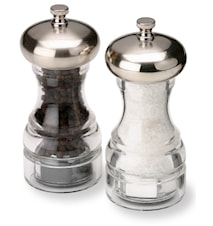 Aspen Salt- och Pepparkvarn Akryl/Krom 13 cm