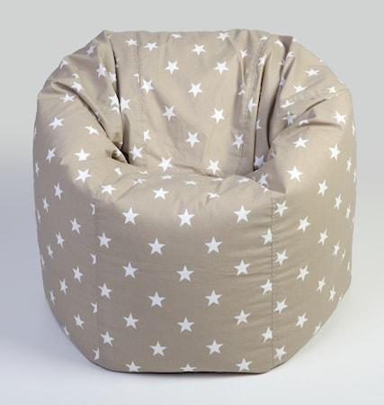 NG Baby Big star sittsäck - Sand