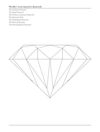 Bilde av Konstgaraget Diamant poster