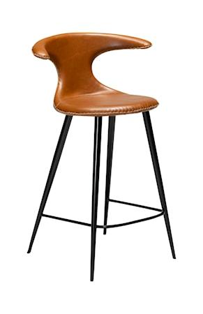 Dan Form Denmark Barstol Flair Konstläder 90 cm - Vintage Ljusbrun