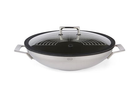 Silence Proinduct wok med glaslock 36 cm