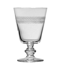 Lagerkrans Vin/Ölglas Handgraverat