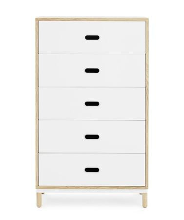 Normann Copenhagen Kabino 5 drawers kommode – Hvit thumbnail