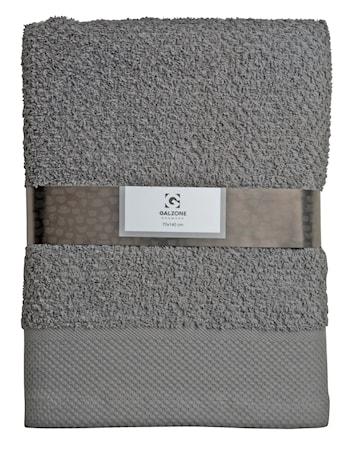 Galzone Håndklæde - 100% bomuld - 400 g - Grå - L 140,0cm - B 70,0cm - Sleeve - Stk. thumbnail