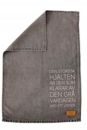 """Ernst Kirchsteiger Keittiöpyyhe """"Största hjälten"""",harmaa"""