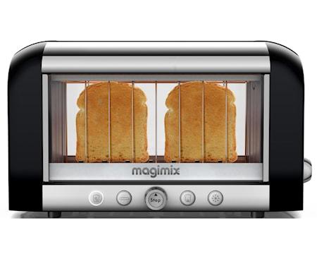 Magimix Vision Brödrost 2 skivor svart/stål