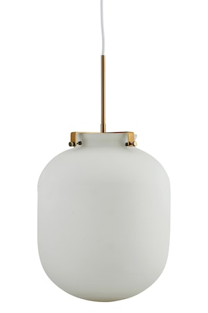 House Doctor Ball-Jar Lamppu Valkoinen D:30 cm Lasia