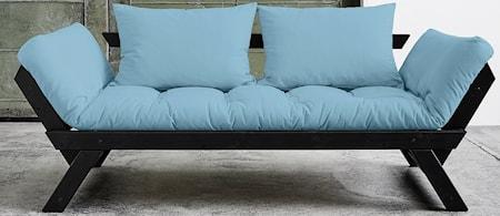 KARUP BeBop soffa ? Svart/Ljusblå