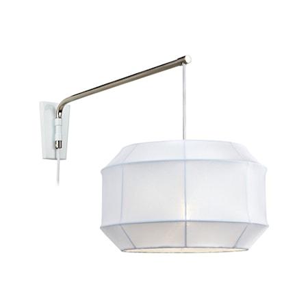 Bilde av Markslöjd Corse Vegglampe Stål/Hvit