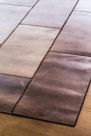 Massimo Leather Brown Matta - 150x210