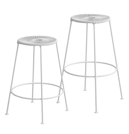OK Design Acapulco bar stool H66 ? Vit