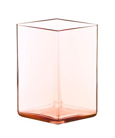 Bilde av Iittala Ruutu vase 115x140 mm Lakserosa