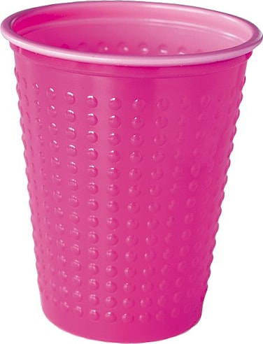 Plastbägare Colorix 20 cl Rosa 40-pack