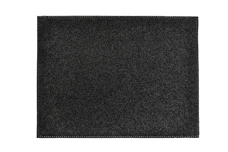 Zone Denmark Tabletti Huopa Musta 40×30 cm