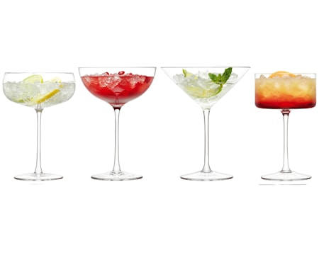 LSA International Lulu Cocktaillasi 4-pack