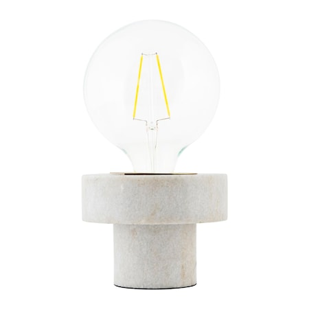 Bilde av House Doctor Pin Taklampe Hvit Marmor D:13 cm