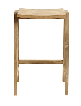 MUUBS Deka Barstol Natur Ny teak 42,5x75x34,5 cm