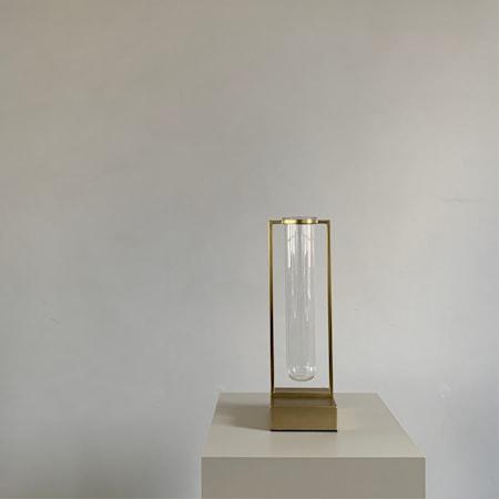 Tate Mini Vas Glas & Mässing