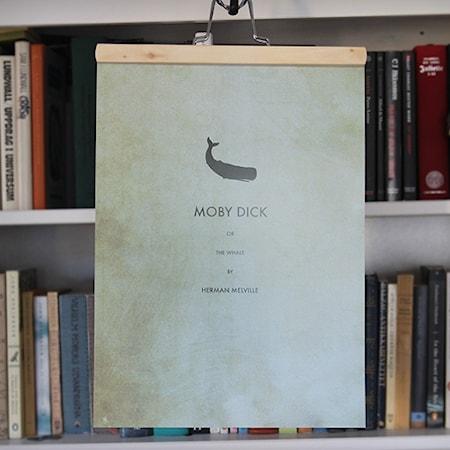 Bilde av Owl streets Moby Dick poster