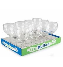 Rödvinsglas Ballon 25cl 12st Glas