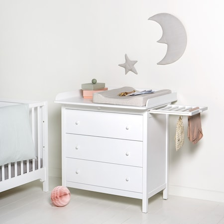 Oliver Furniture Seaside nursery byrå med skötbord