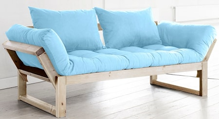 KARUP Edge soffa ? Natur/Ljusblå