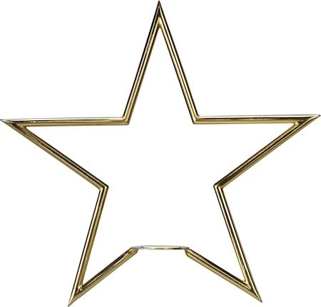 Tindra Stjärna Guld 35cm