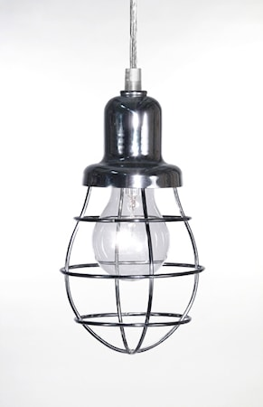 Bilde av Globen Lighting Pendel Mini Cage Krom