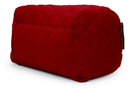 Pusku Pusku Plus quilted nordic sittpuff - Red