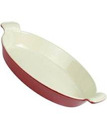Ugnsform Oval 27,5cm röd