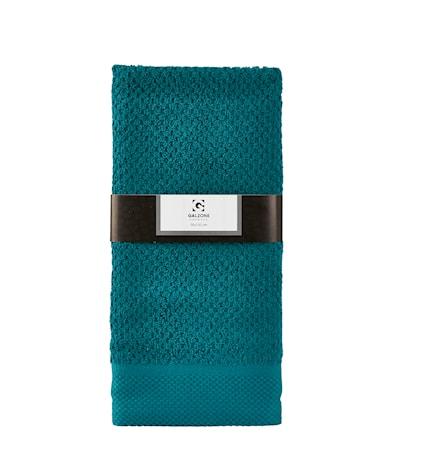 Galzone Håndklæde - 100% bomuld - 400 g - Petrol - L 100,0cm - B 50,0cm - Sleeve - Stk. thumbnail