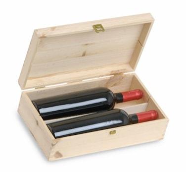 Cassetta Pinot 2 bt- Presentlåda för 2 flaskor