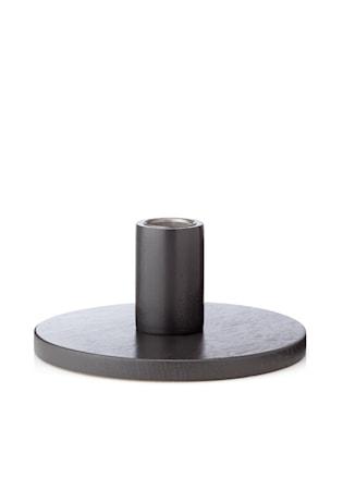 Bilde av Applicata Simplicity Lysestake Grå 6 cm