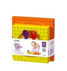 Middagsset för barn Orange