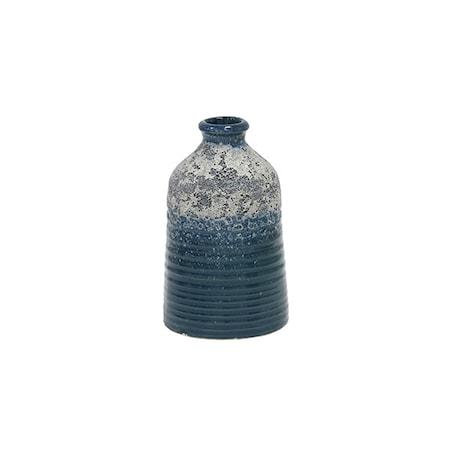 Bilde av Blomstervase S Keramikk Blå 12,8 cm