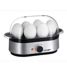 Äggkokare för 6 ägg- Aluminium
