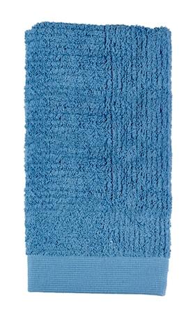Zone Denmark Håndklæde - Blå - Stk. - Classic - 100% bomuld - 600 g - Mat - L 100,0cm - B 50,0cm - Sleeve thumbnail