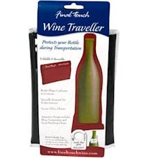 Wine Traveller Black- Transportpåse för flaska