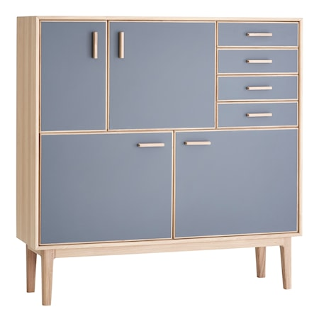 CASØ Furniture CASØ 700 highboard skåp ? Grå/ek